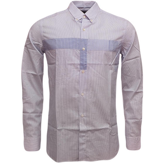 Fcuk Long Sleeve Shirt 52BEC Blue Thumbnail 4