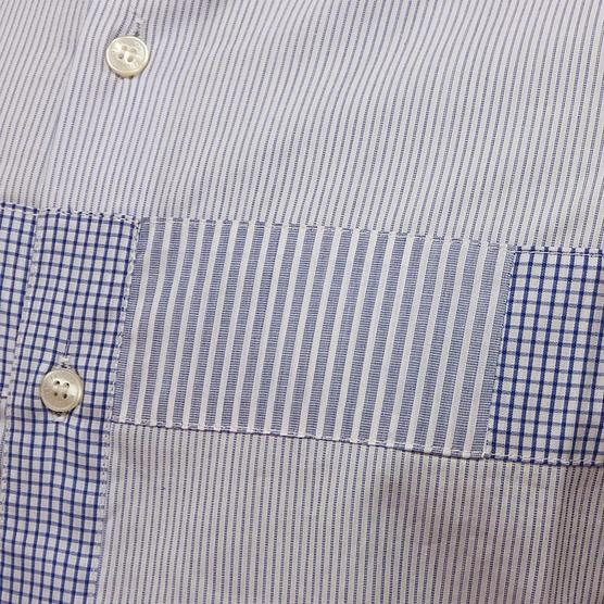 Fcuk Long Sleeve Shirt 52BEC Blue Thumbnail 5