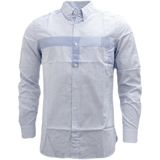 Fcuk Long Sleeve Shirt 52BEC Blue Thumbnail 1