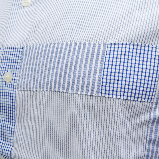 Fcuk Long Sleeve Shirt 52BEC Blue Thumbnail 3
