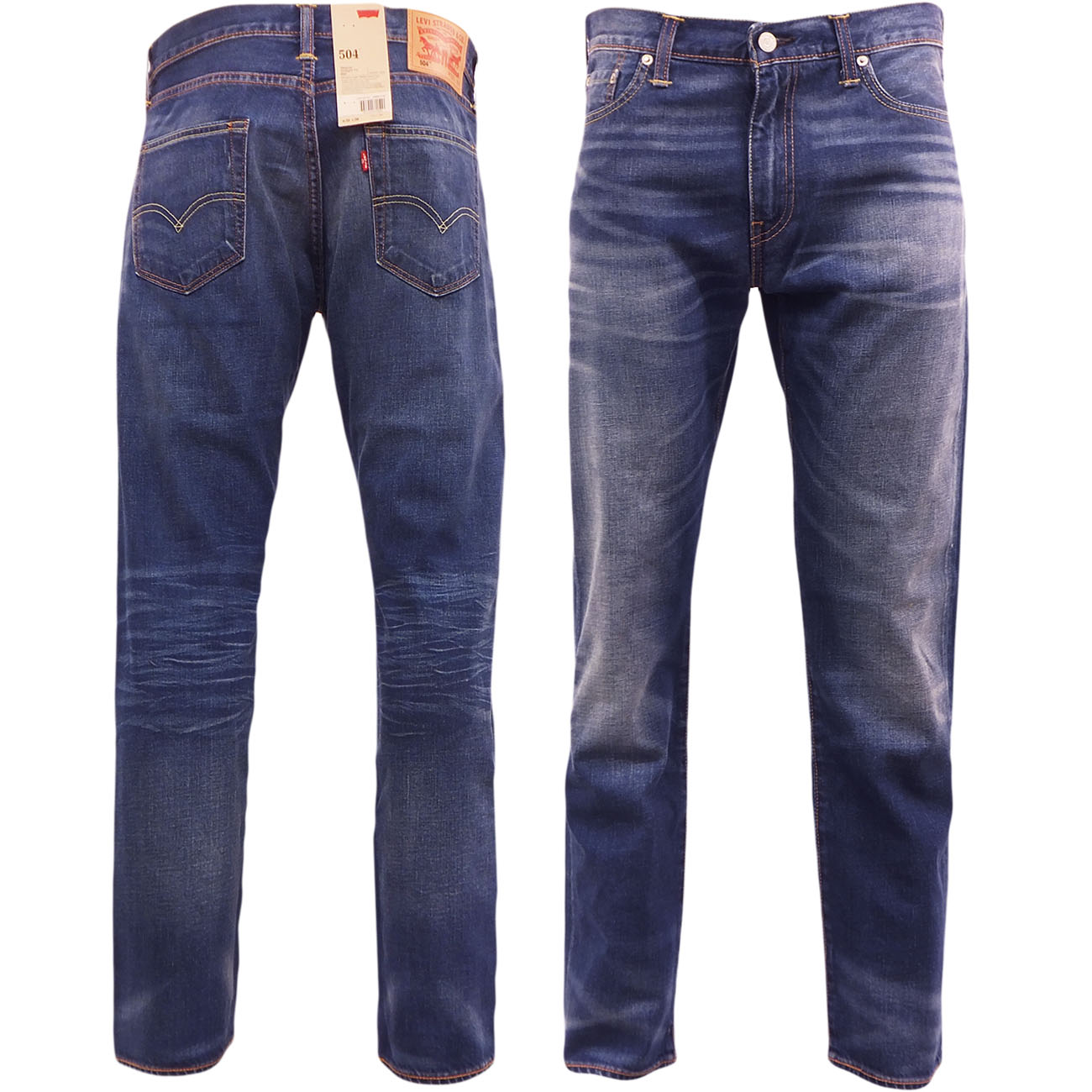 de5ec8b7 Sentinel Levi 504 Regular Straight Fit Jean Levi's Denim Trouser Pant Jeans