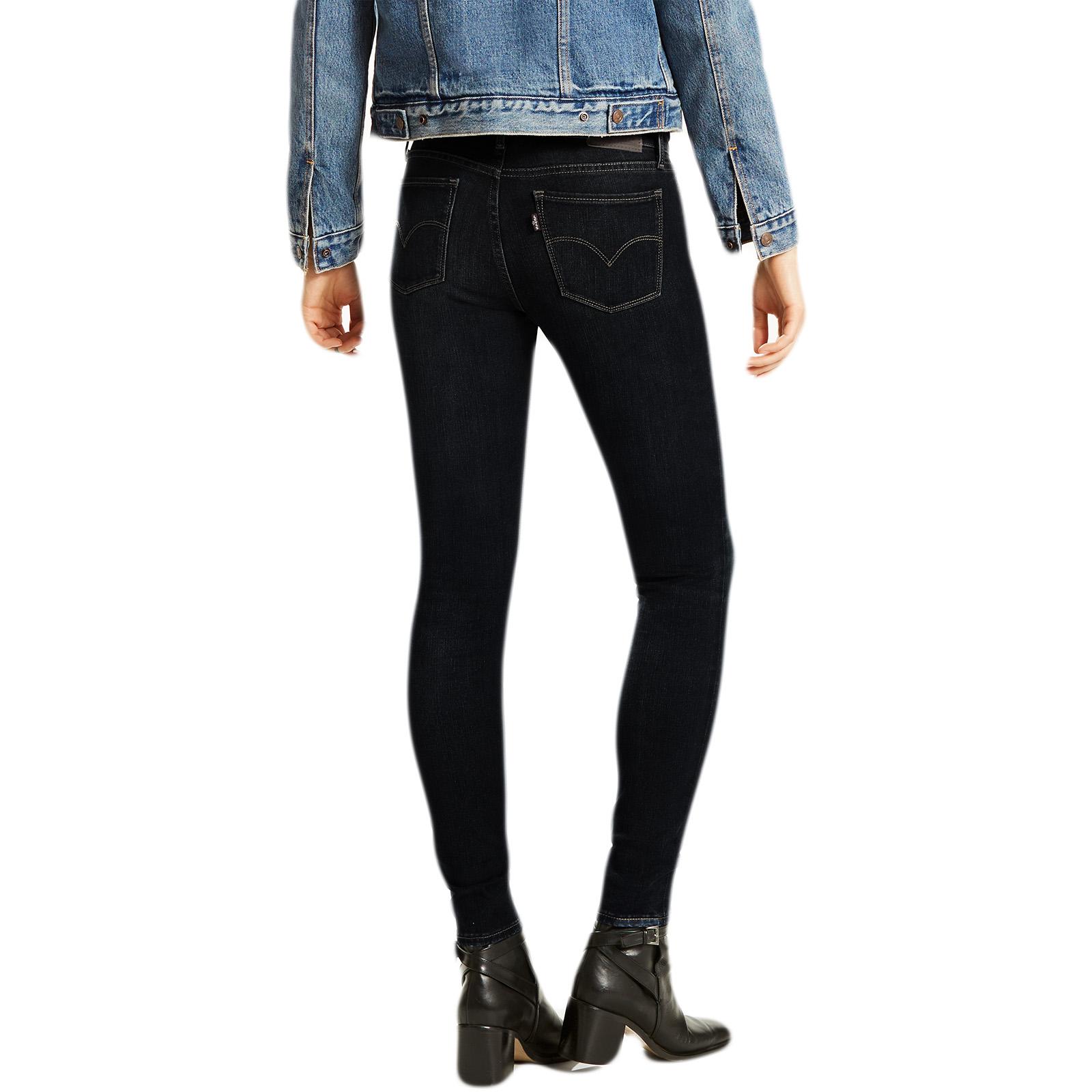 Super Femme Skinny Jeans Levi Strauss Noir 710 OXFtqxSnZ