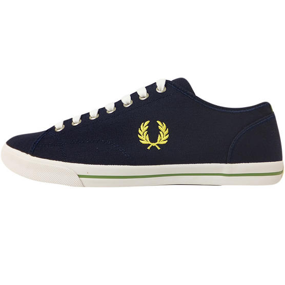 Fred Perry Canvas Trainer Blue Thumbnail 3