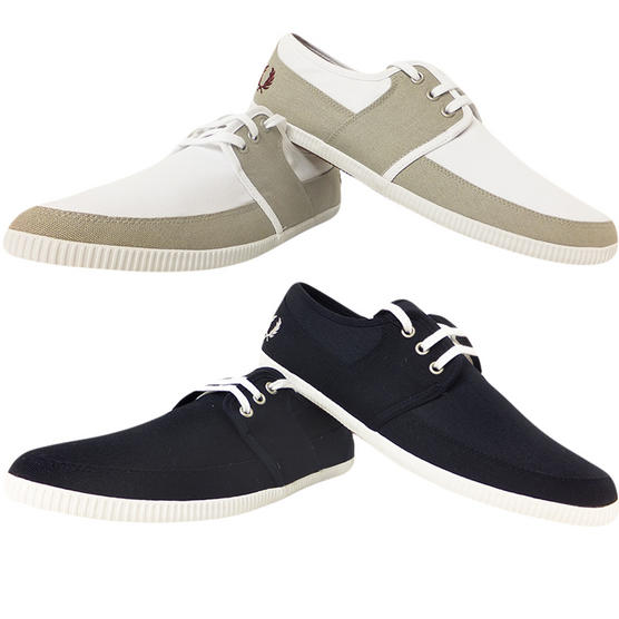 Fred Perry Canvas Trainer Thumbnail 1