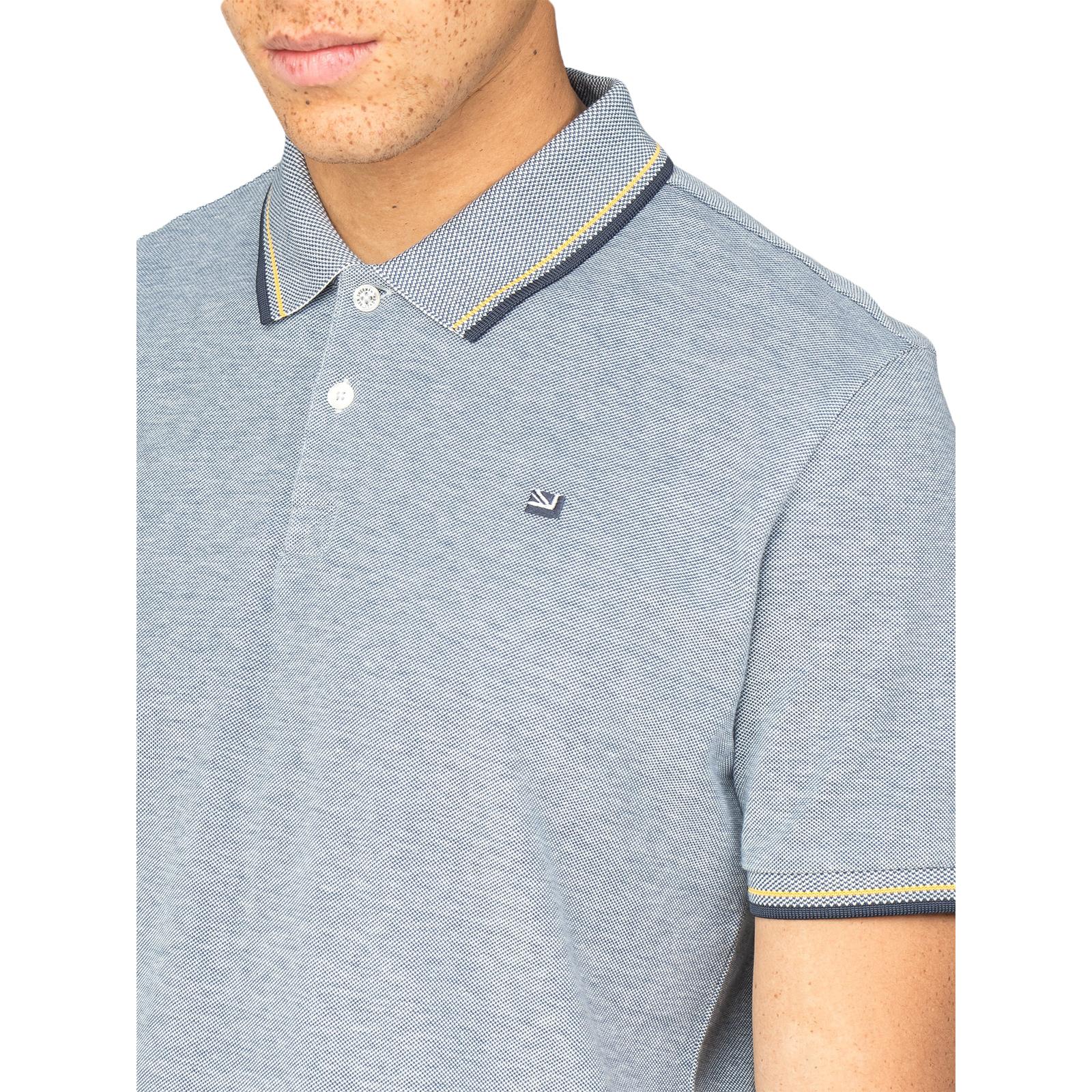 616a9440fdb203 Ben Sherman Twim Tipping Collar Pique Polo Shirt - 47811 | eBay