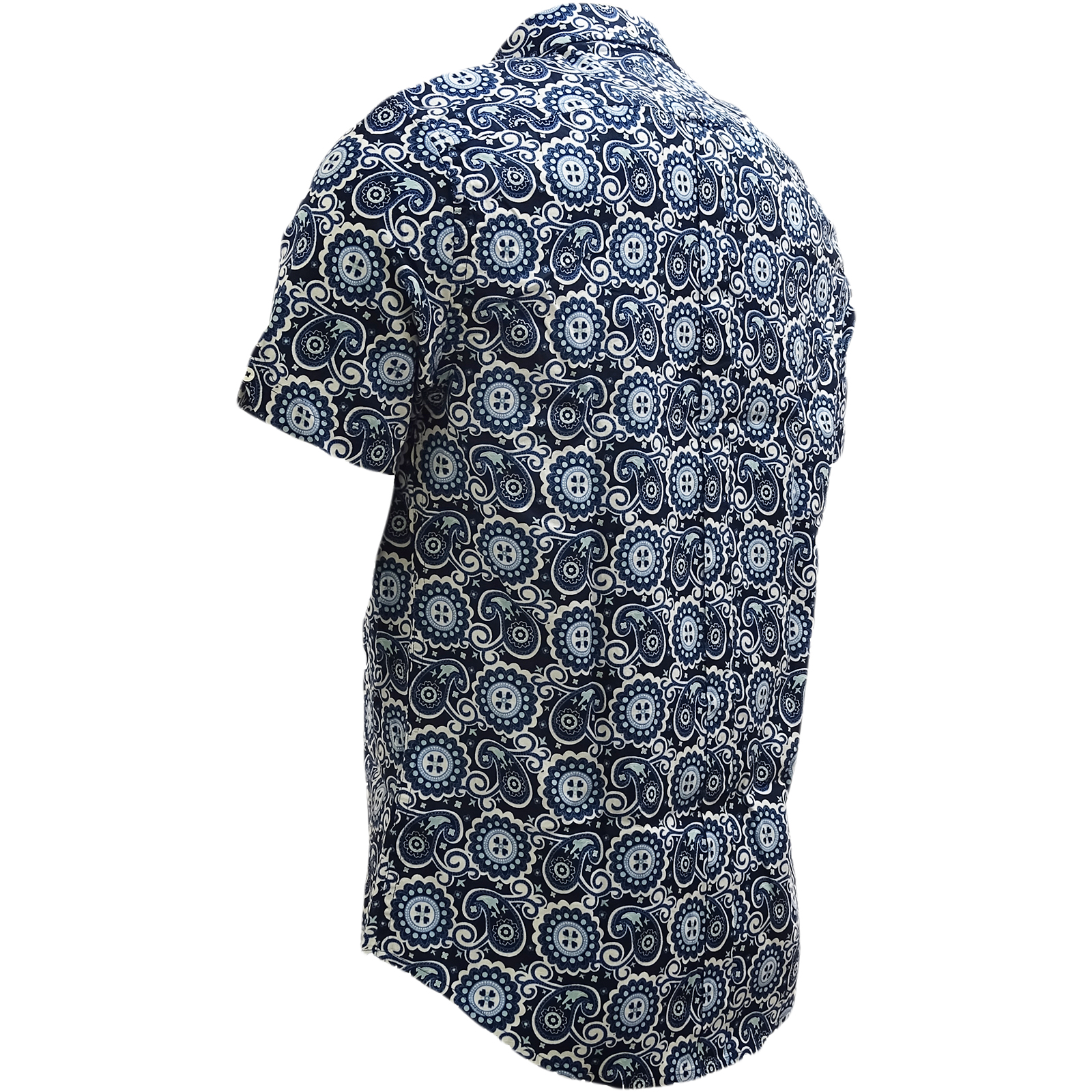 Ben Sherman Midnight Mod Retro Paisley Shirt - 54031 54031 54031 d8b431