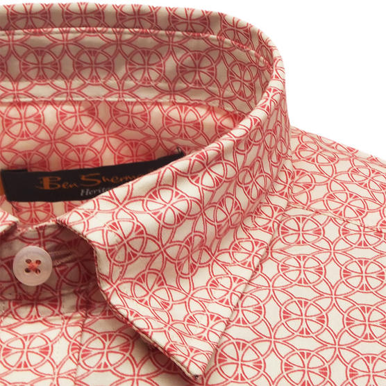 Ben Sherman Short Sleeve Shirt 611 Thumbnail 3