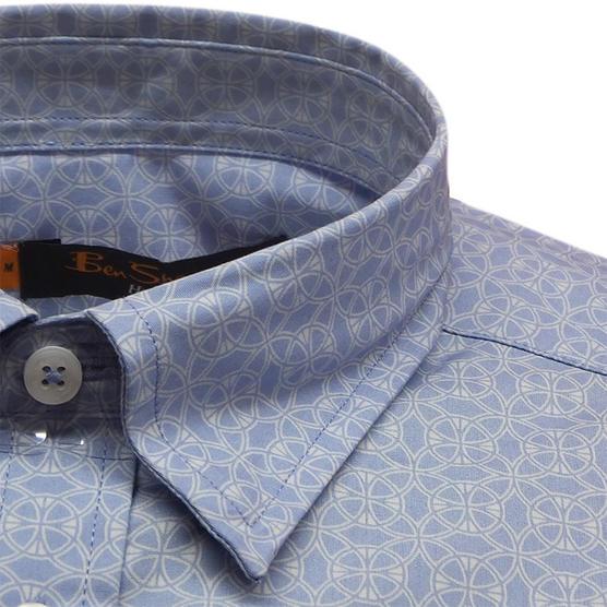 Ben Sherman Short Sleeve Shirt 611 Thumbnail 5