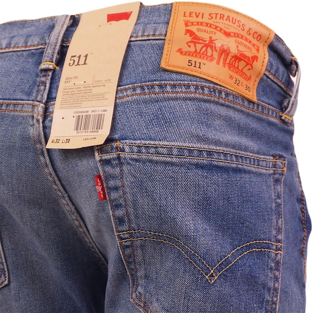 Levi's 511 slim fit jeans harbour