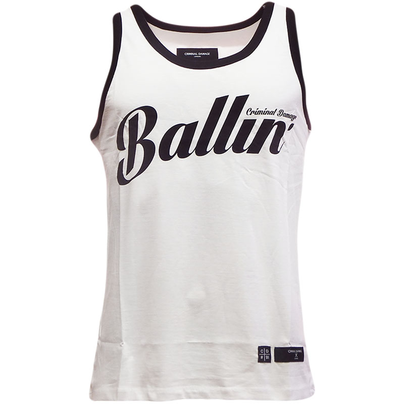 Criminal Damage Vest - Ballin