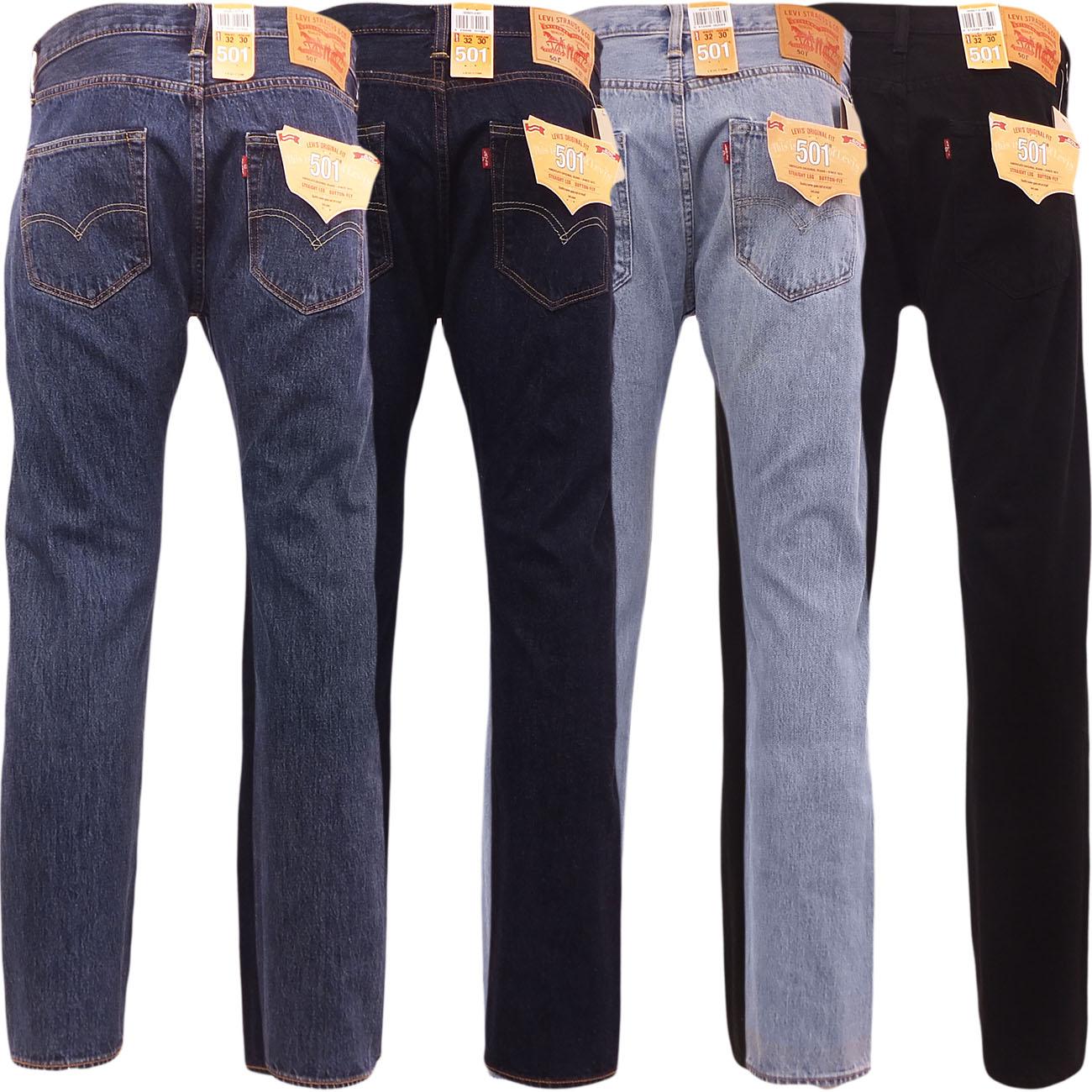 b8a9956d93f Levi 501 Jeans para Hombre Levi s Strauss Calce Recto trouser pant ...
