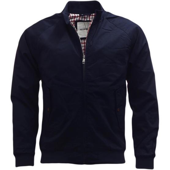 Mens Jacket Ben Sherman Harrington Coat Lightweight Outerwear Thumbnail 2