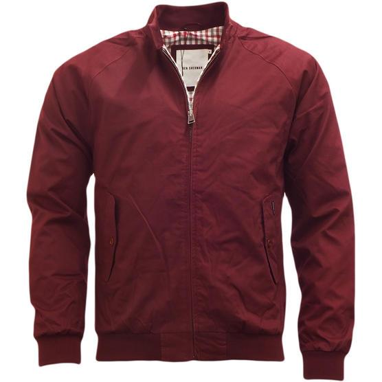 Mens Jacket Ben Sherman Harrington Coat Lightweight Outerwear Thumbnail 5