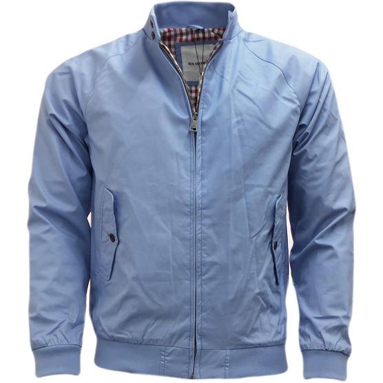 Mens Jacket Ben Sherman Harrington Coat Lightweight Outerwear Thumbnail 6