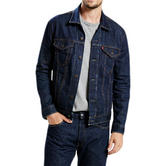 Levi Strauss Jean Jacket - Dark Blue Denim Coat