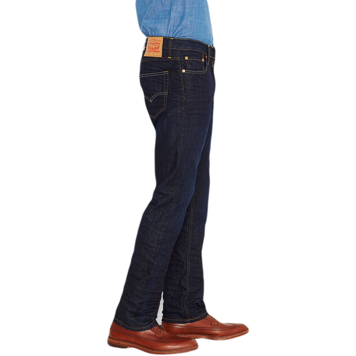 mens levi jeans 504 straight denim fit 39 the rich 39 30 32 33. Black Bedroom Furniture Sets. Home Design Ideas
