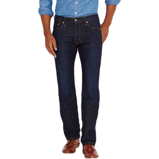 Mens Levi Jeans 504 Straight Denim Fit 'The Rich' 30 32 33 34 36 38 Thumbnail 1