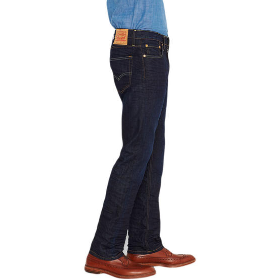 Mens Levi Jeans 504 Straight Denim Fit 'The Rich' 30 32 33 34 36 38 Thumbnail 2