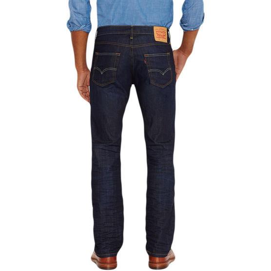 Mens Levi Jeans 504 Straight Denim Fit 'The Rich' 30 32 33 34 36 38 Thumbnail 3