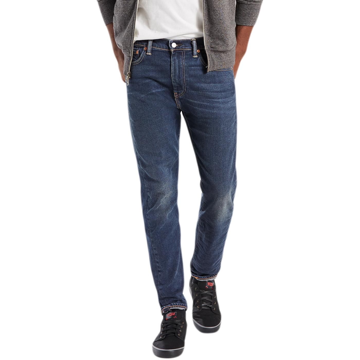 levi strauss clapton dark blue 510 skinny leg jean