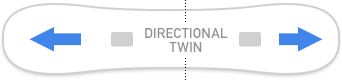 Directional Twin Shape