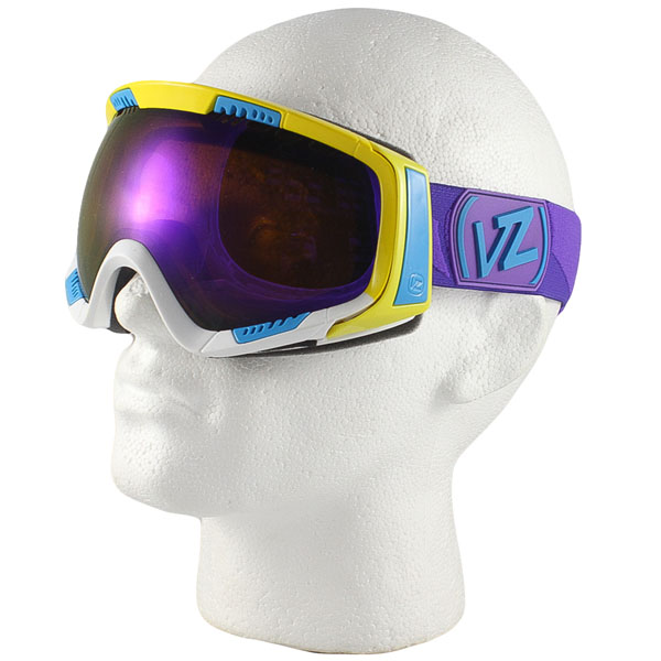 a7c5e1bca5be Von ZIPPER Feenom Snowboard Ski Goggles Color Blok Astro Chrome Lens 2012.  About this product. Picture 1 of 5  Picture 2 of 5  Picture 3 of 5 ...