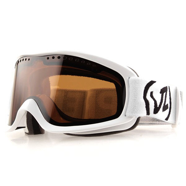 Von ZIPPER Goggles Sizzle White Gloss 9002 Small | eBay