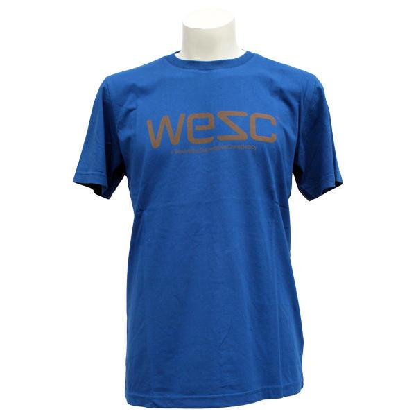 Basement T Shirts Part - 41: WeSC Mens WeSC Soft T-Shirt True Blue Small