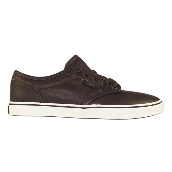 Vans Atwood Low Womens Shoe Leather Brown Turtledove  fe93c72743