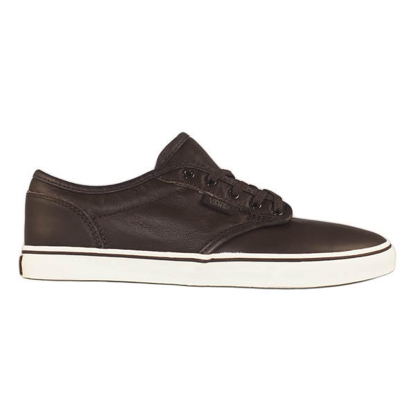 5bcf22a903 Vans Atwood Low Womens Shoe Leather Brown Turtledove