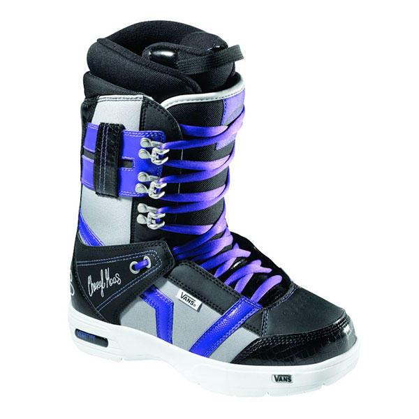 a0a483a0c0 Vans Hi Standard Womens Snowboard Boots Black Cheryl Mass ...