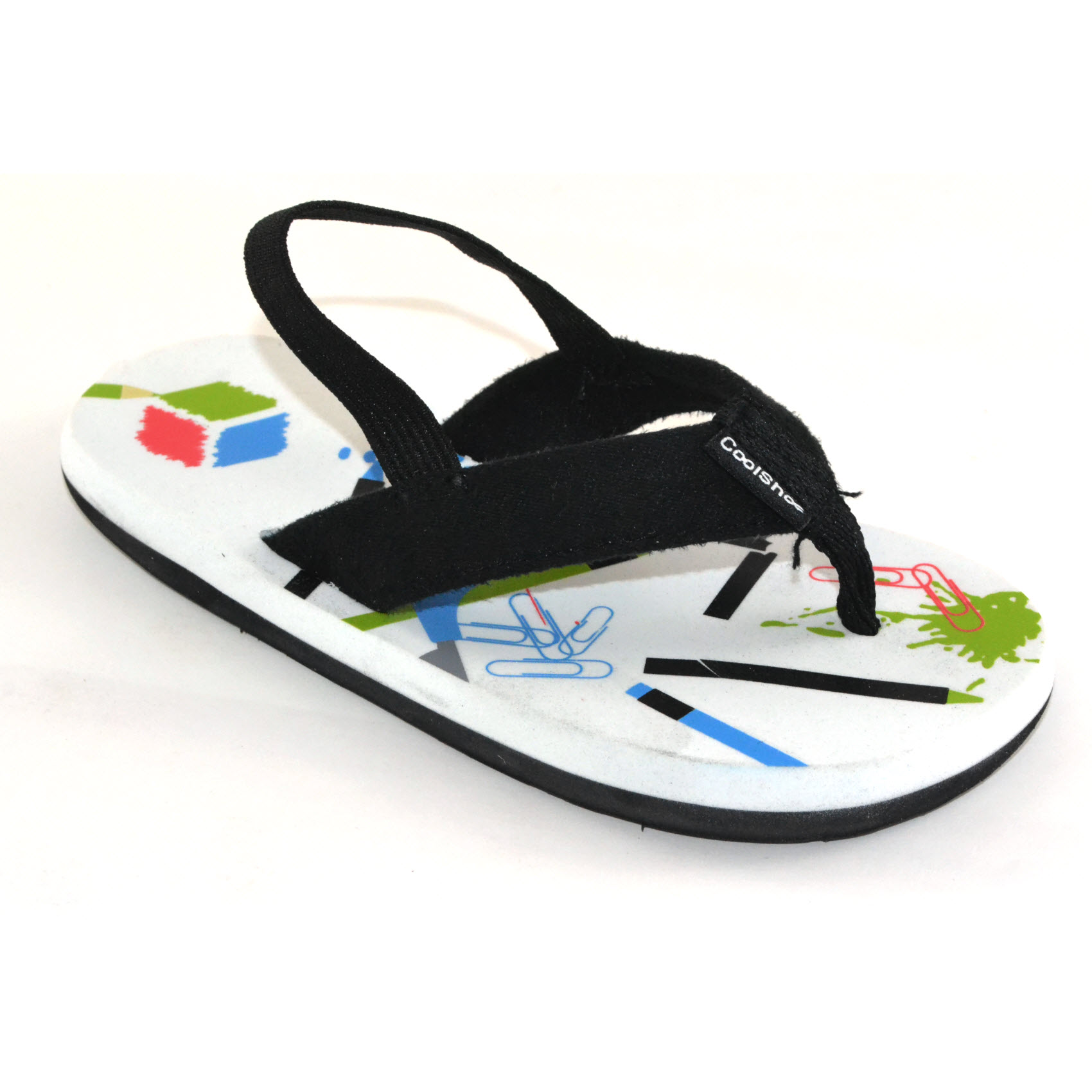 7a2589fd5855 Sentinel Cool Shoe School Boy Kids Flip Flop Sandals Summer Slippers  Childrens Sizes