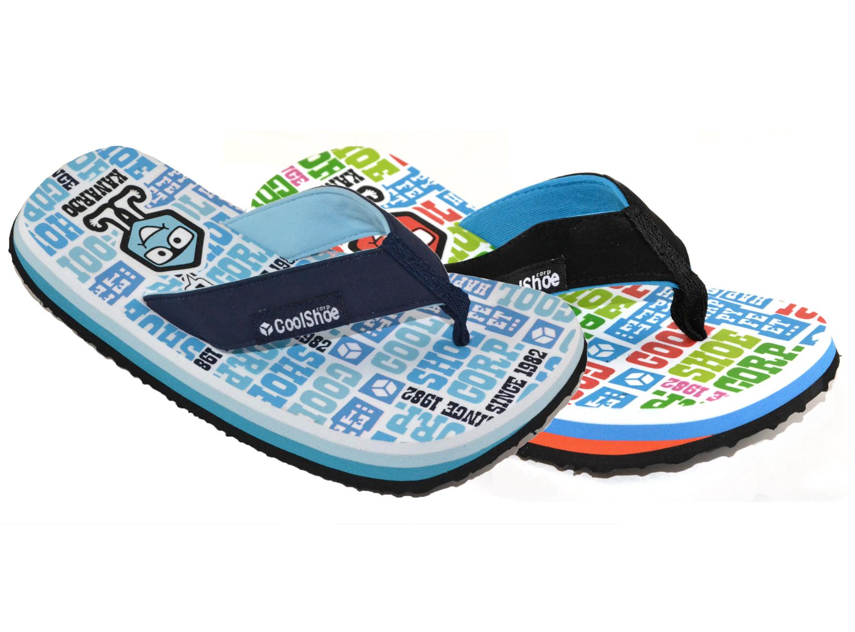 Cool Shoe Happy Feet Boys Flip Flops Sandals Children ...