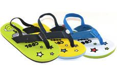 Cool Shoe DJ Boys Toddler Flip Flops