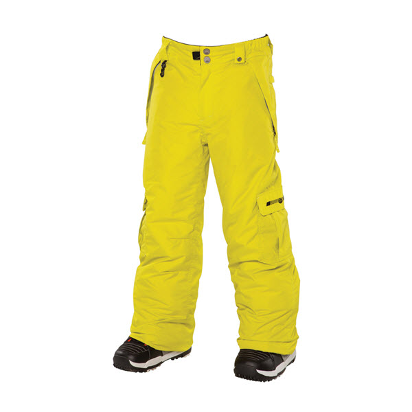686 Boys Mannual Ridge Snowboard Pants Acid 2014 Youth  Ski Jacket S