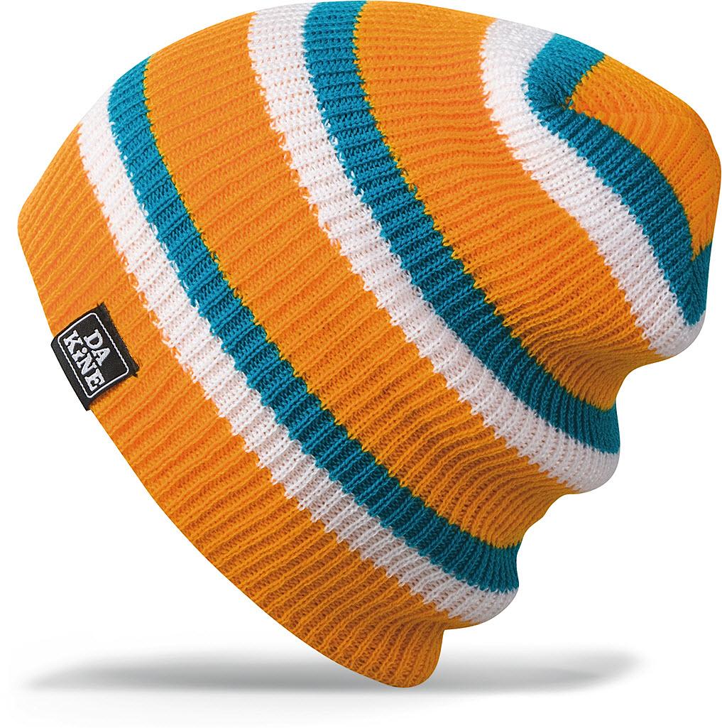 6895f73a6fe Dakine Youth Boys Kids Zeke Beanie Hat Lemon Stripe