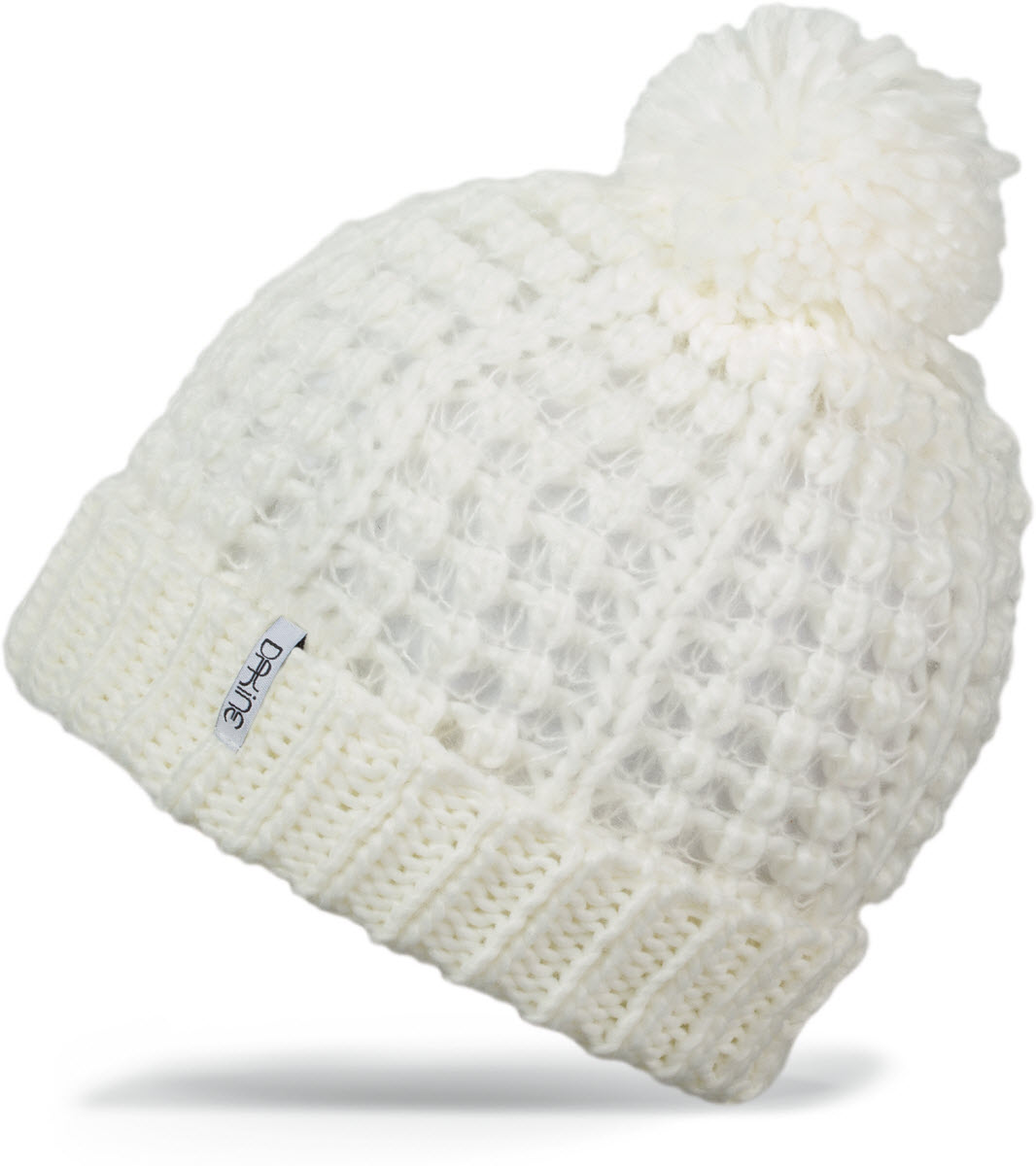 9da9ccaddcd71 Dakine Womens Cassidy Beanie Hat in White