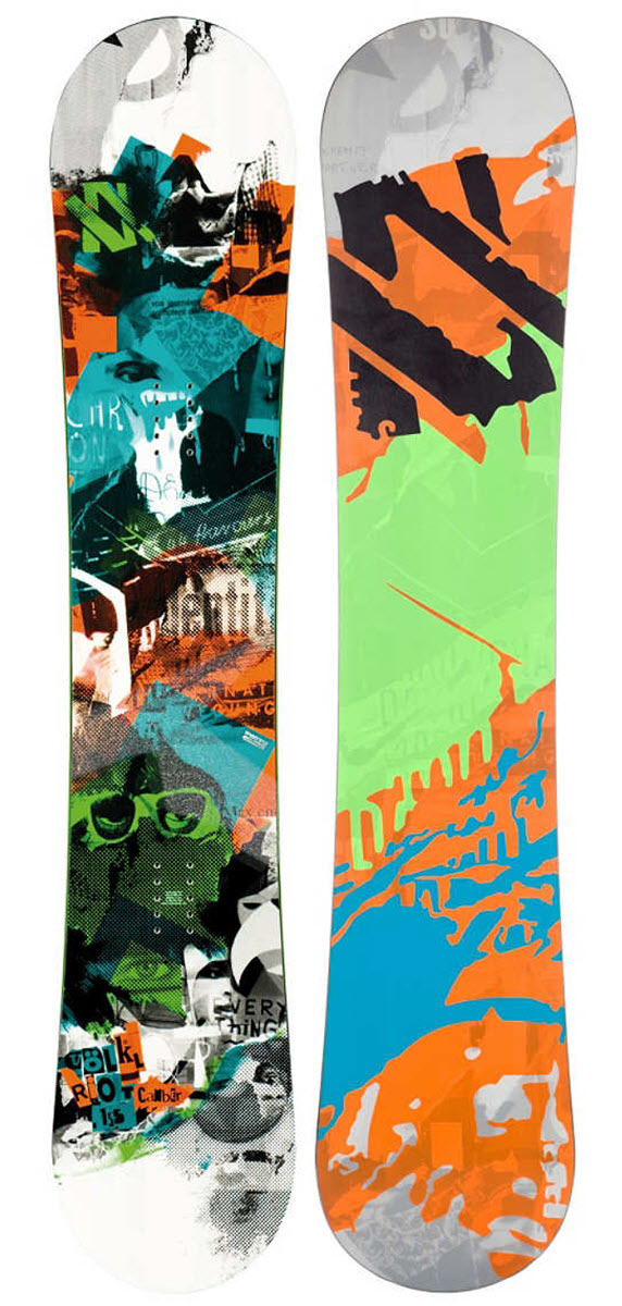Volkl Riot Squad Snowboard 2013 156 Wide review