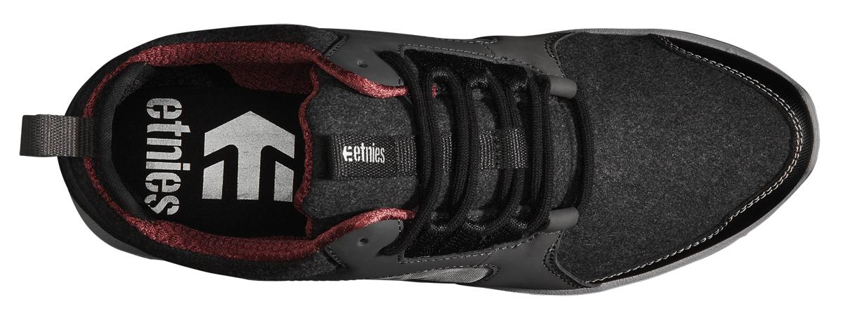 Etnies Scout MT gris noir 2015 léger chaussure de skate 2015 noir 61bbb3