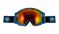 K2 Photokinetic Pro Goggle Blue Grey Red Optic Mirror
