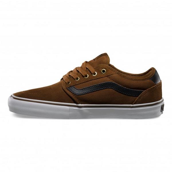 b2aa94ace5 Vans Lindero 2 Skate Shoe Tobacco Black Thumbnail 5