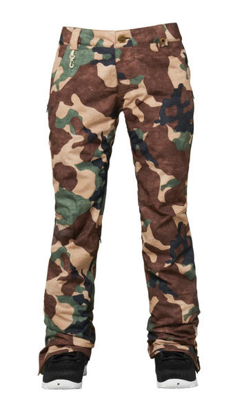 ed1919290e44 686 Parklan Meadow Womens Snowboard Pants 2015 in Camo