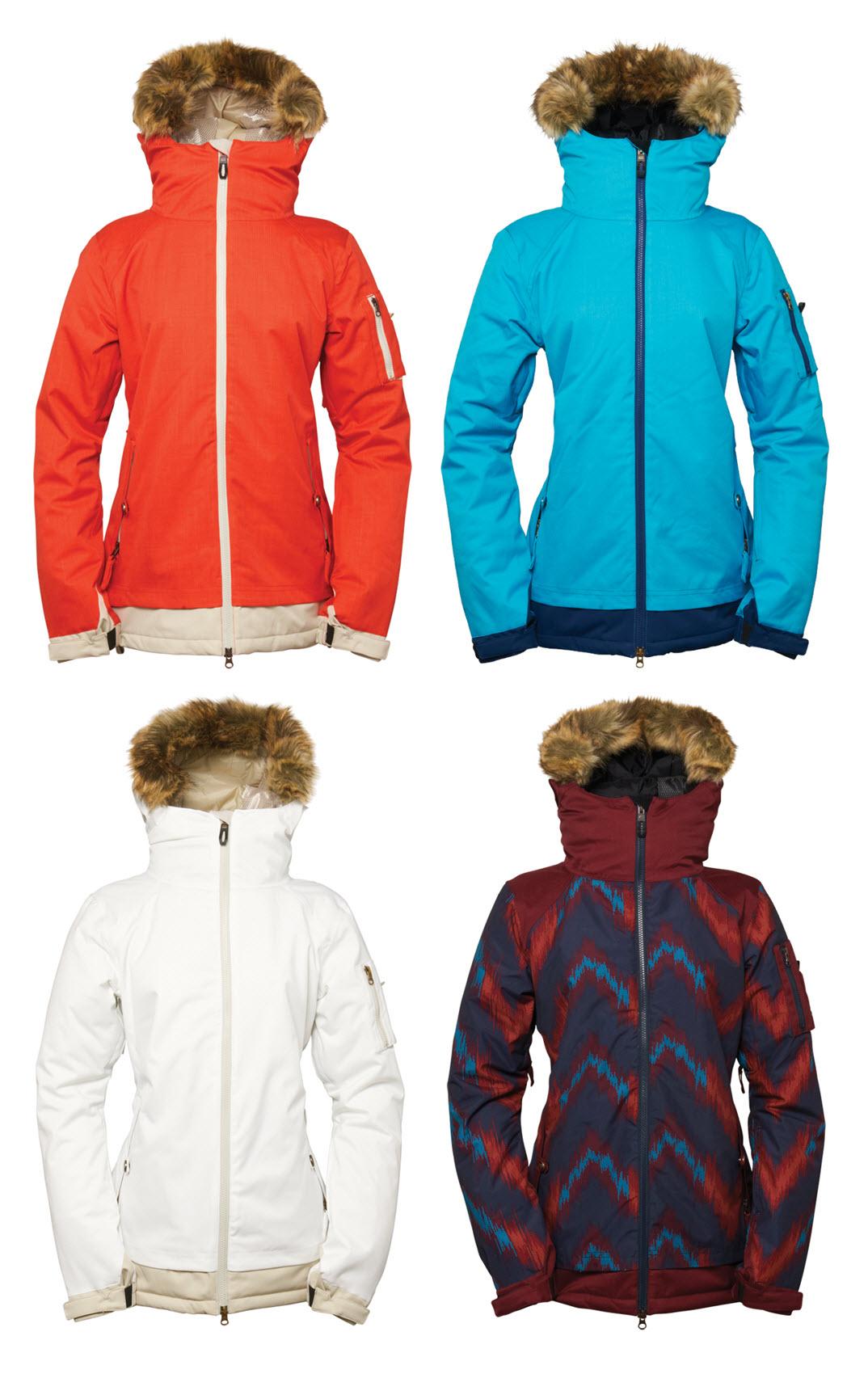 Sentinel 686 Womens Snowboard Jacket