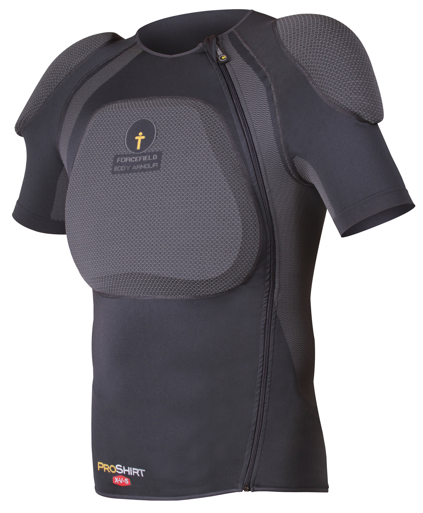Forcefield-Body-Armour-Pro-Camisa-Snowboard-X-V-S-manga-corta-de-la-columna-vertebral-2017
