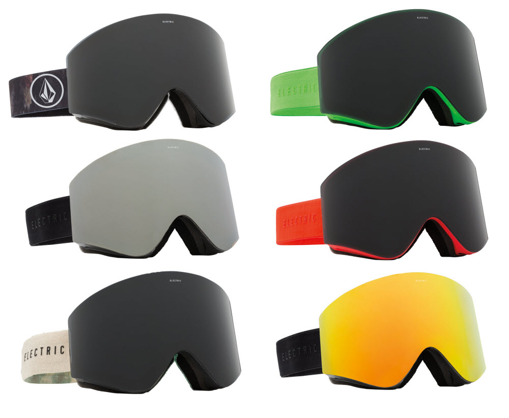1166a4c3cd Sentinel Electric EGX Snowboard Ski Goggles Frameless Interchangable Lens  Goggle
