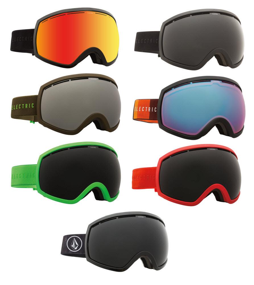 592cd2d01213 Sentinel Electric EG2 Snowboard Ski Goggles Oversized Large Goggle plus  Spare Lens