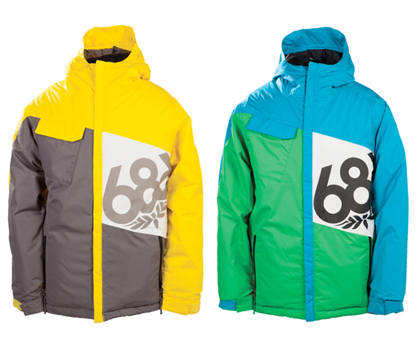 3b4ed8dc939e 686 Boys Mannual Iconic Insulated Snowboard Jacket 2014