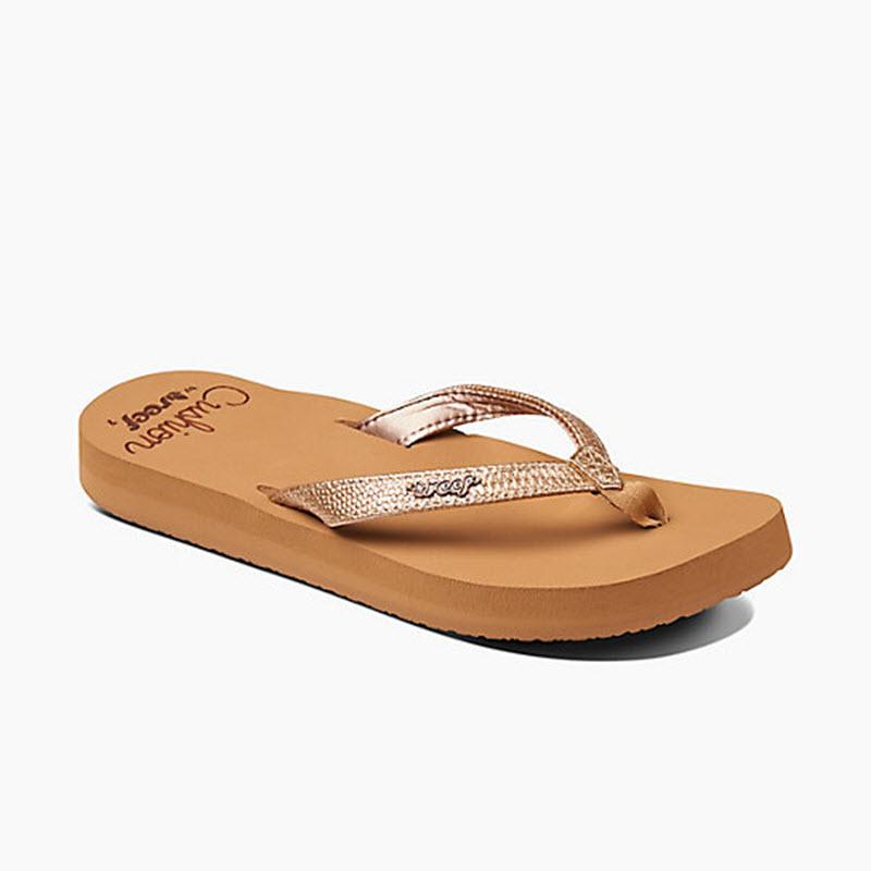 4320aad63f5a Reef Star Cushion Sassy Womens Flip Flops
