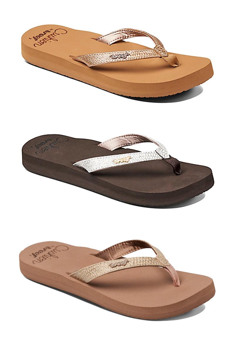 bad7f3fc7b4a Details about Reef Womens Flip Flops - Star Cushion Sassy - Sandal