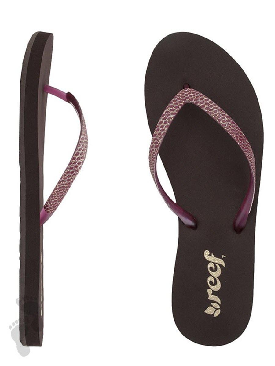 c14b70f2aaae Details about Reef Womens Flip Flops - Stargazer Sassy - Sandal